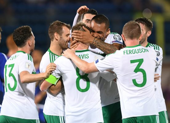 Who will Northern Ireland play in the World Cup play-offs?