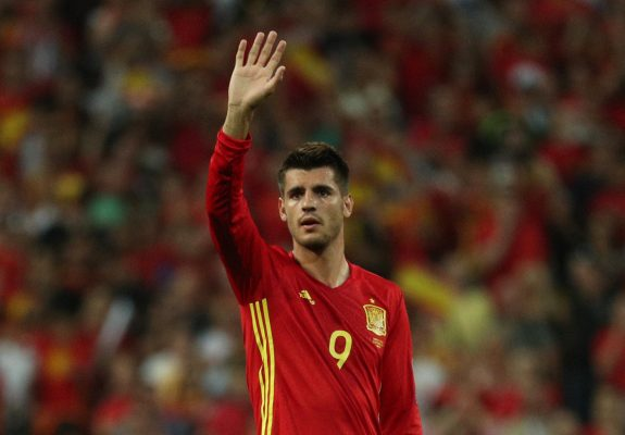Alvaro Morata pulls out of Spain training with bizarre injury
