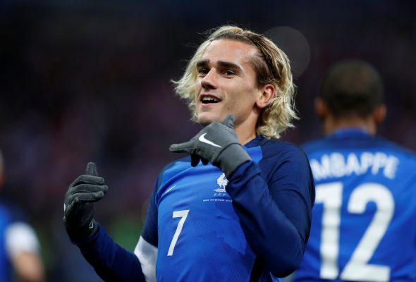 Antoine Griezmann drops major hint regarding his future Manchester United