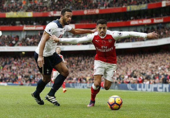 Arsenal vs Tottenham H2H Alexis Dembele