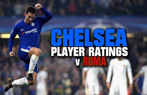 Chelsea player ratings vs AS Roma