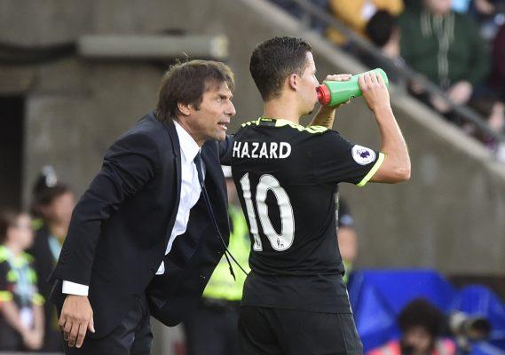 Eden Hazard criticises Antonio Conte's defensive tactics against Liverpool