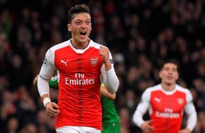 Predicted Arsenal starting line-up vs Man City Ozil