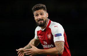 Predicted Arsenal starting team vs Koln Giroud