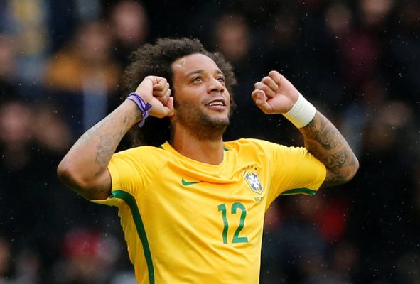 Predicted Brazil starting line-up vs England Marcelo