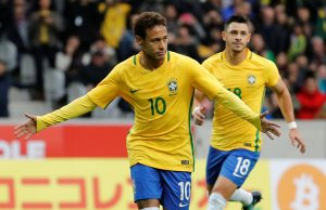 Predicted Brazil starting line-up vs England Neymar