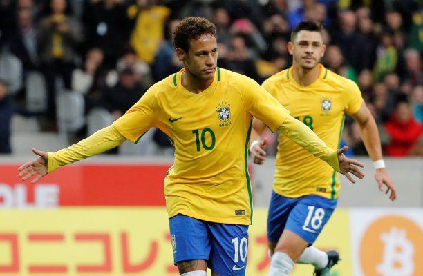 Predicted Brazil starting line-up vs England Neymar