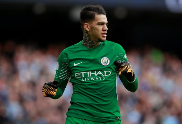 Predicted Manchester City starting line-up vs Arsenal Ederson