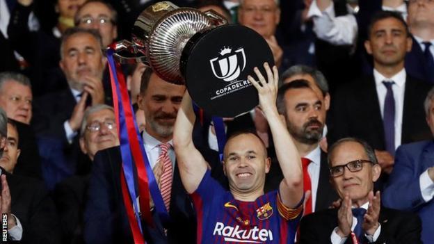 2018 Copa del Rey Winners