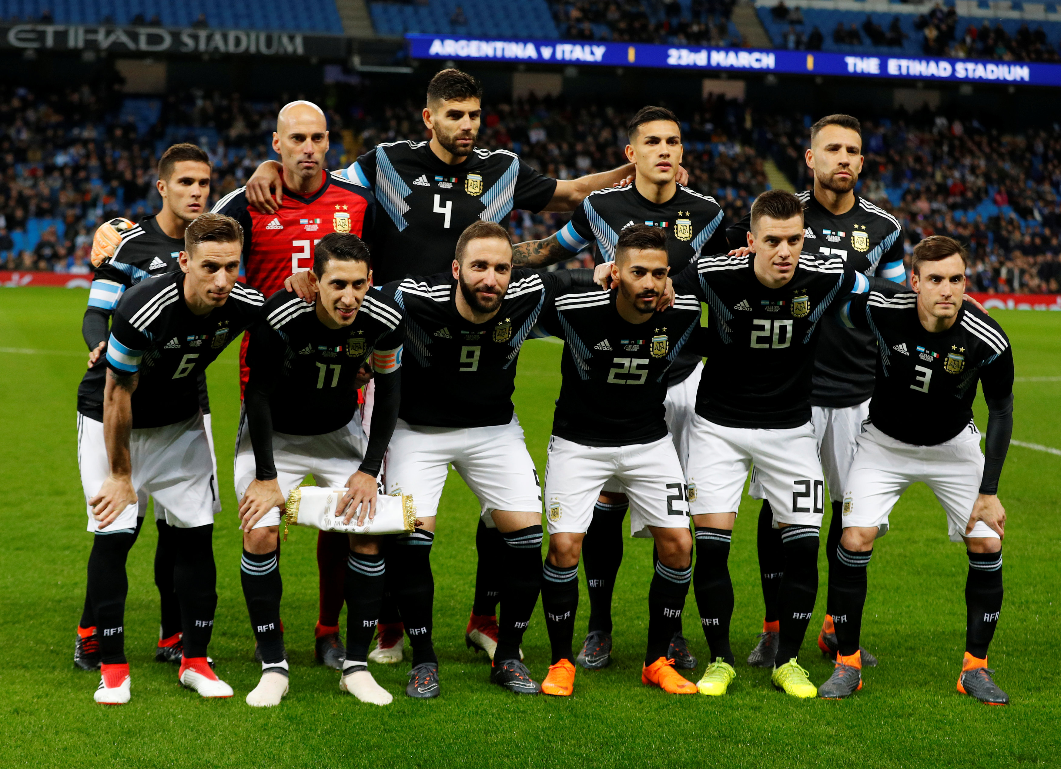 Argentina squad World Cup 2018
