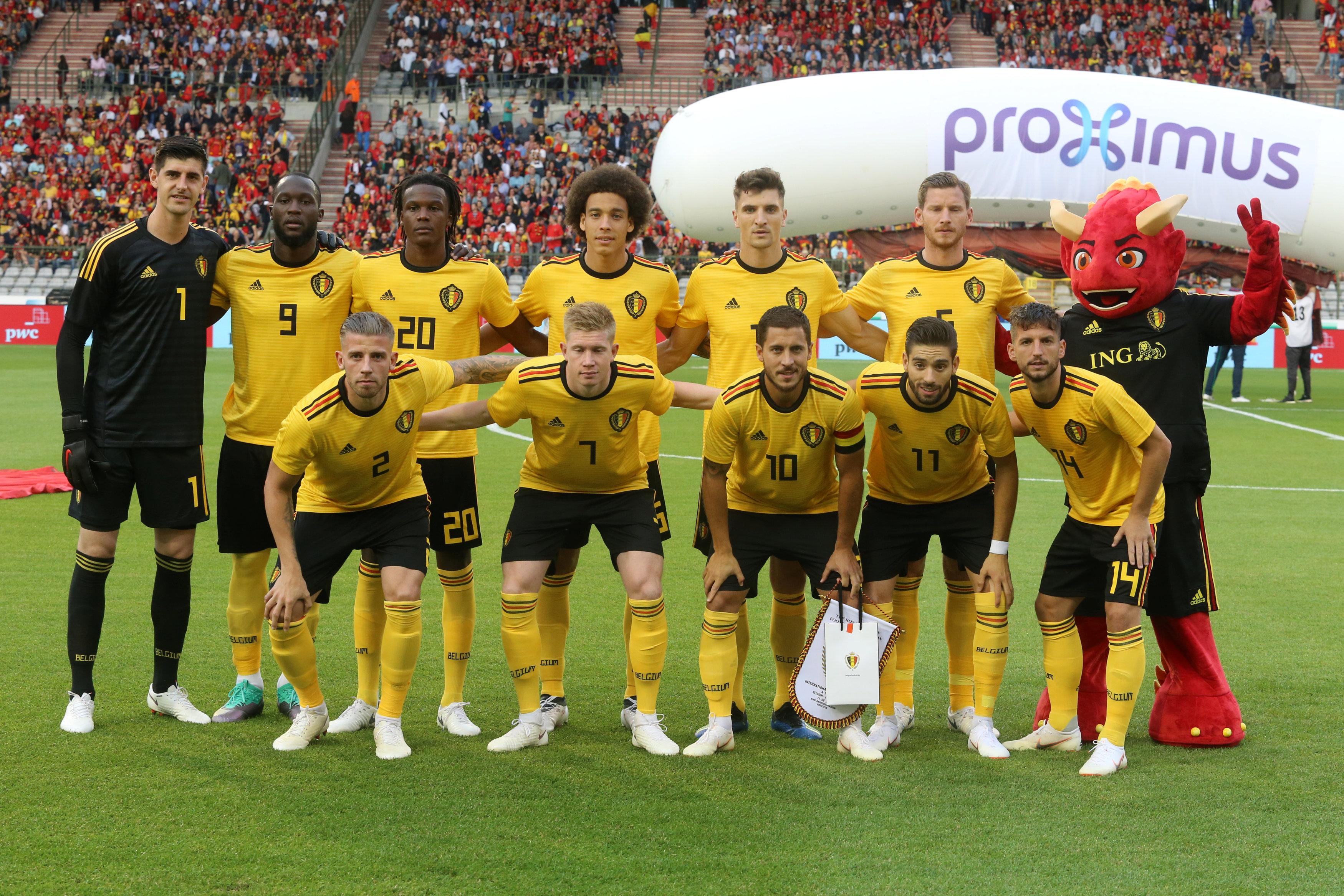 Belgium squad World Cup 2018