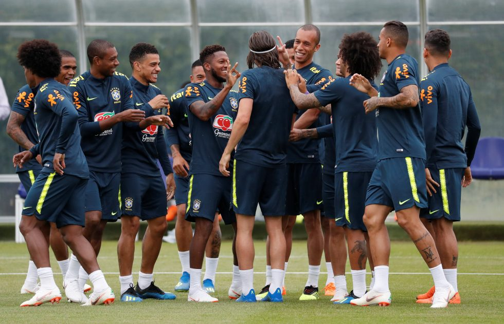 Brazil squad World Cup 2018