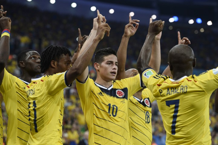 Colombia squad World Cup 2018