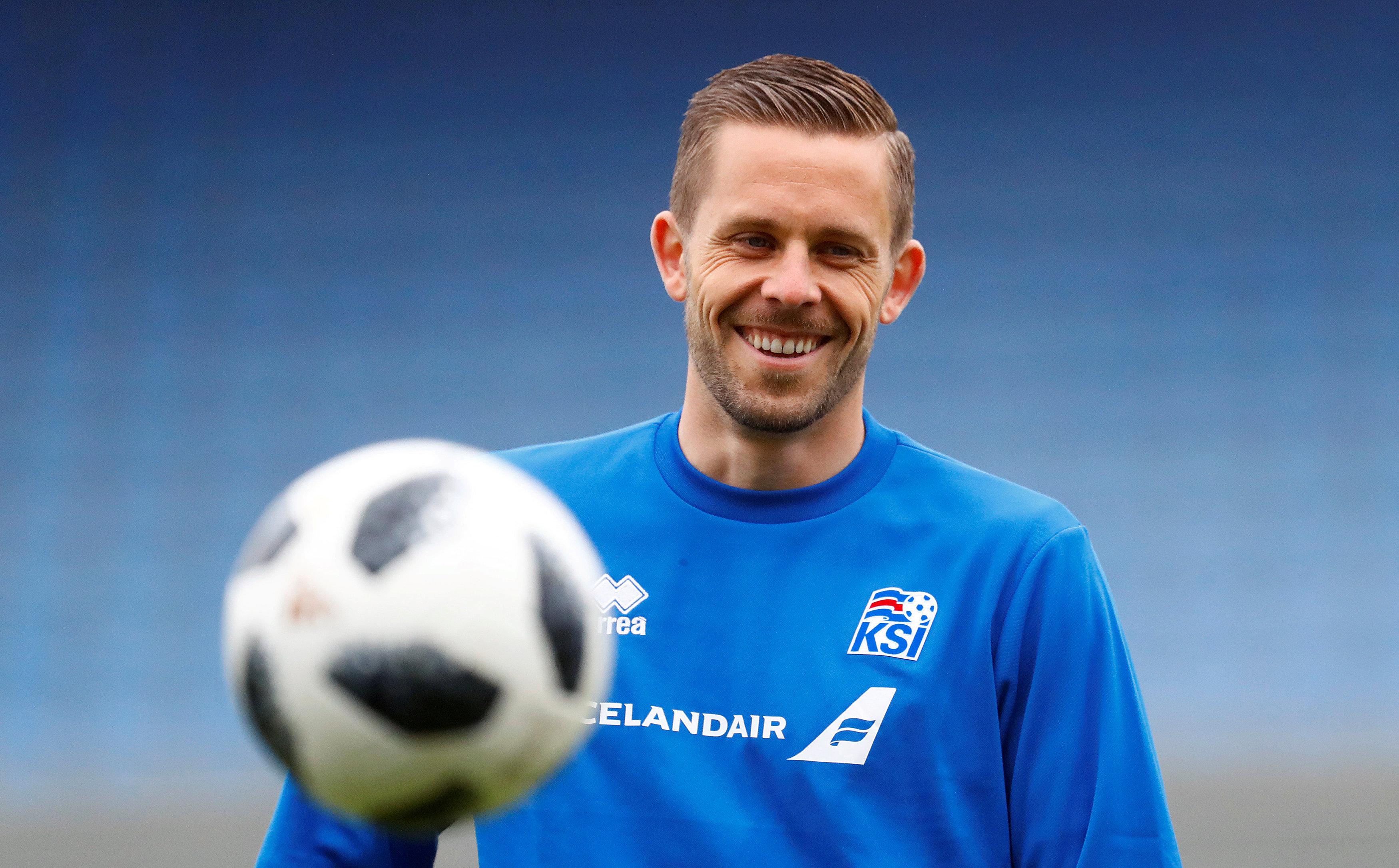 Gylfi Sigurdsson Iceland squad World Cup 2018