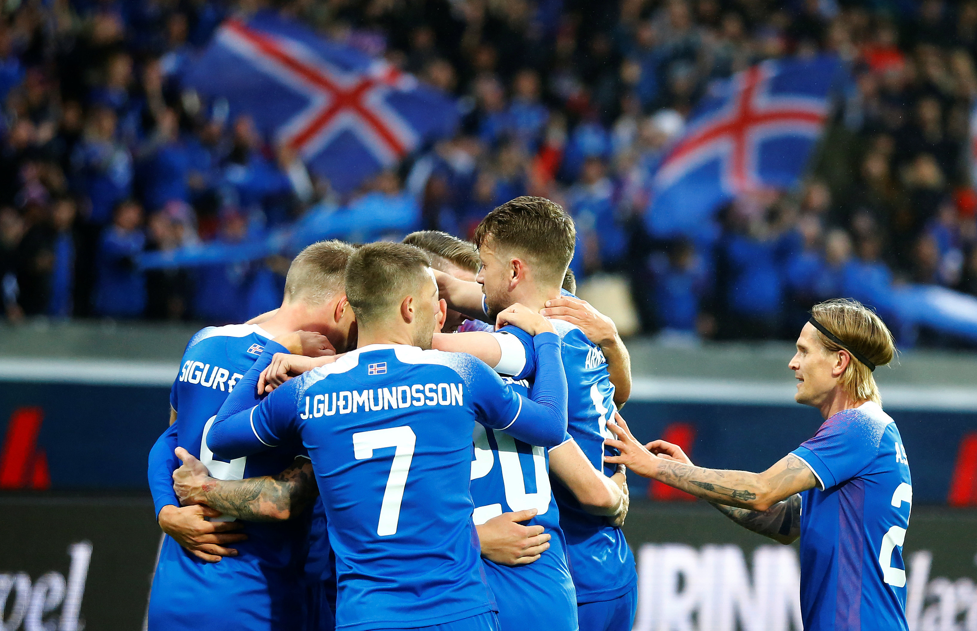 Iceland squad World Cup 2018