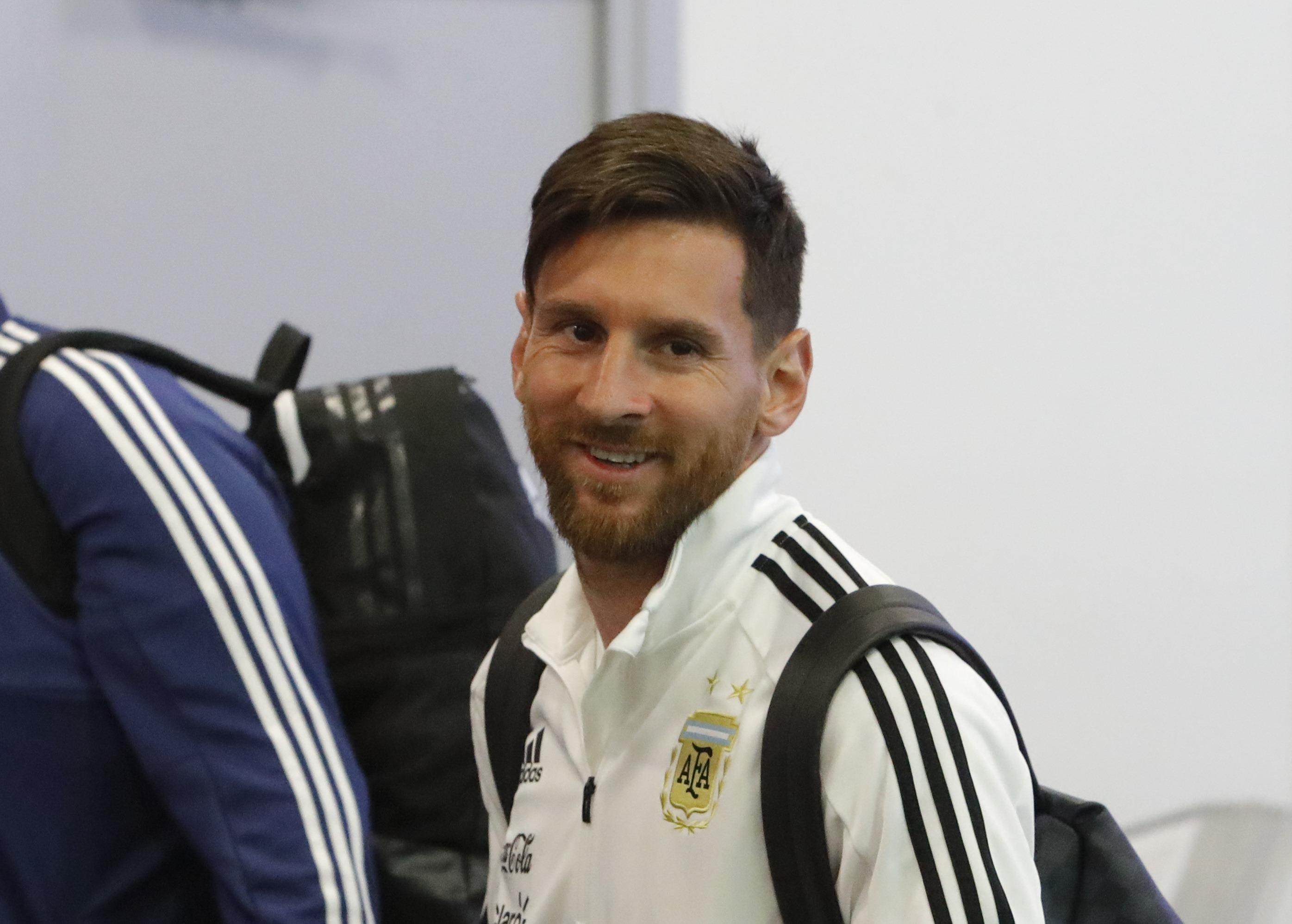 Lionel Messi Argentina squad World Cup 2018