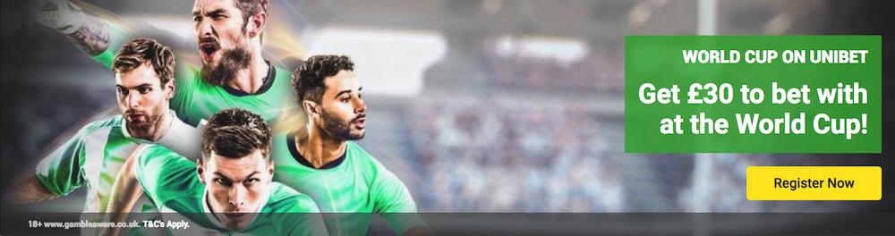 Odds best goalscorer WC 2018
