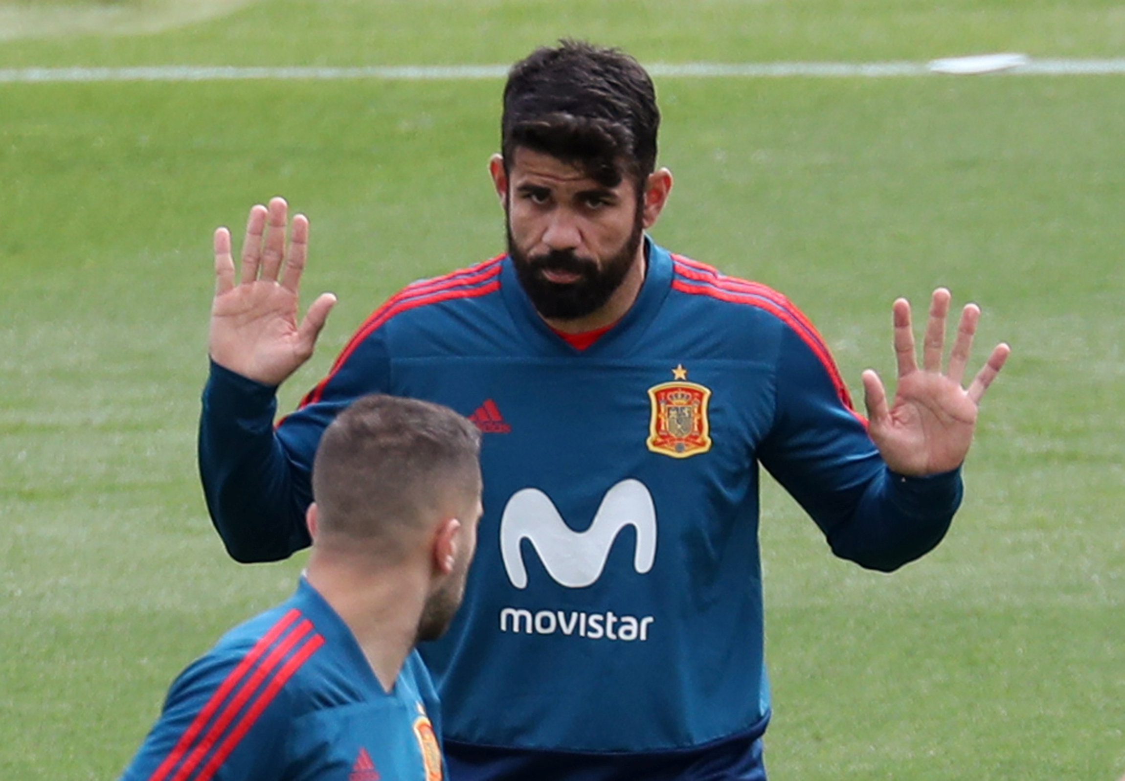 Spain World Cup squad Diego Costa