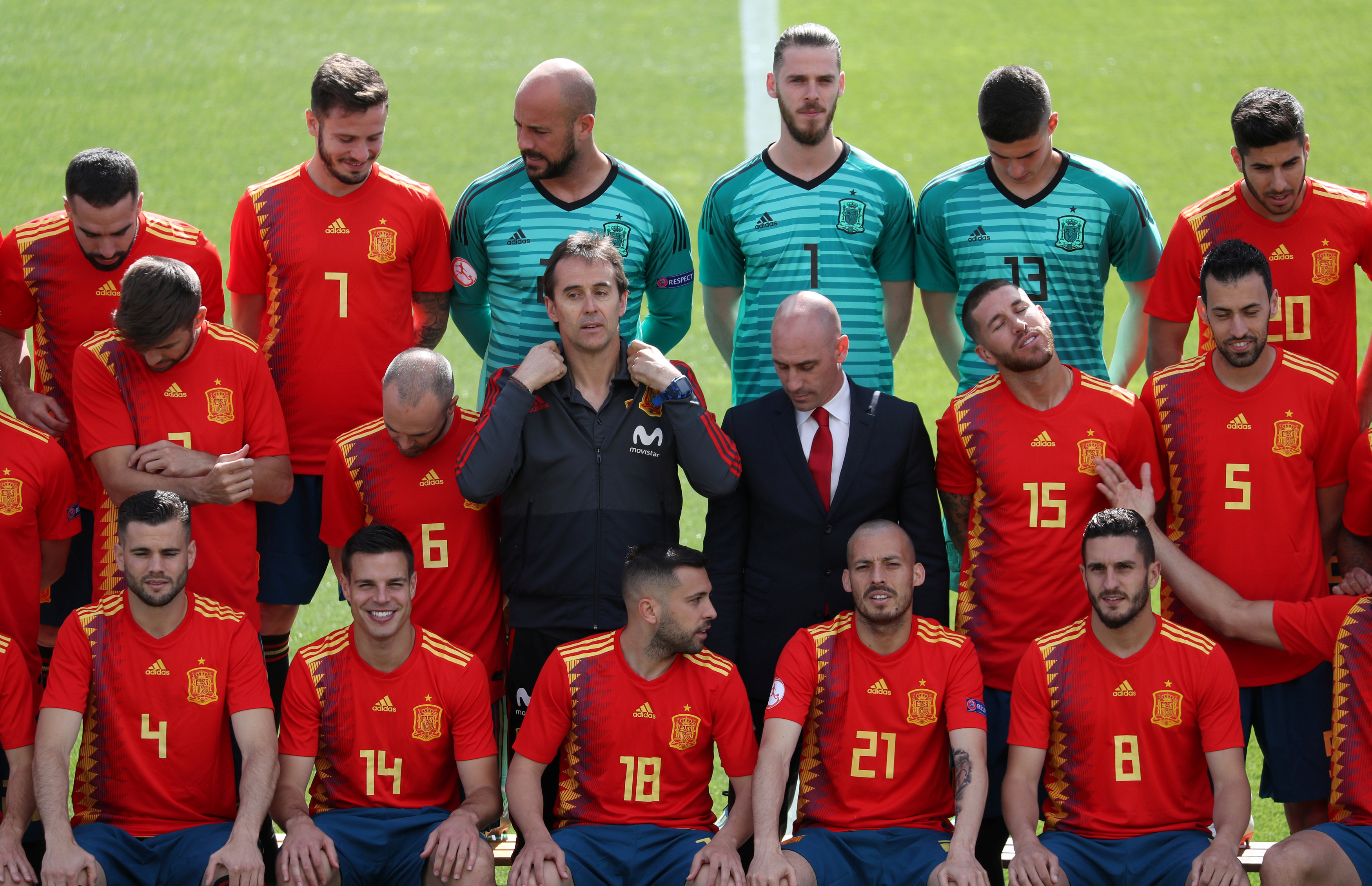 Spain squad World Cup 2018