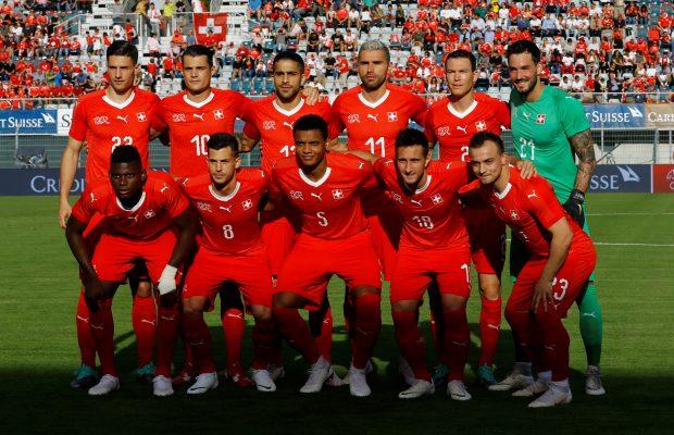 Switzerland squad World Cup 2018