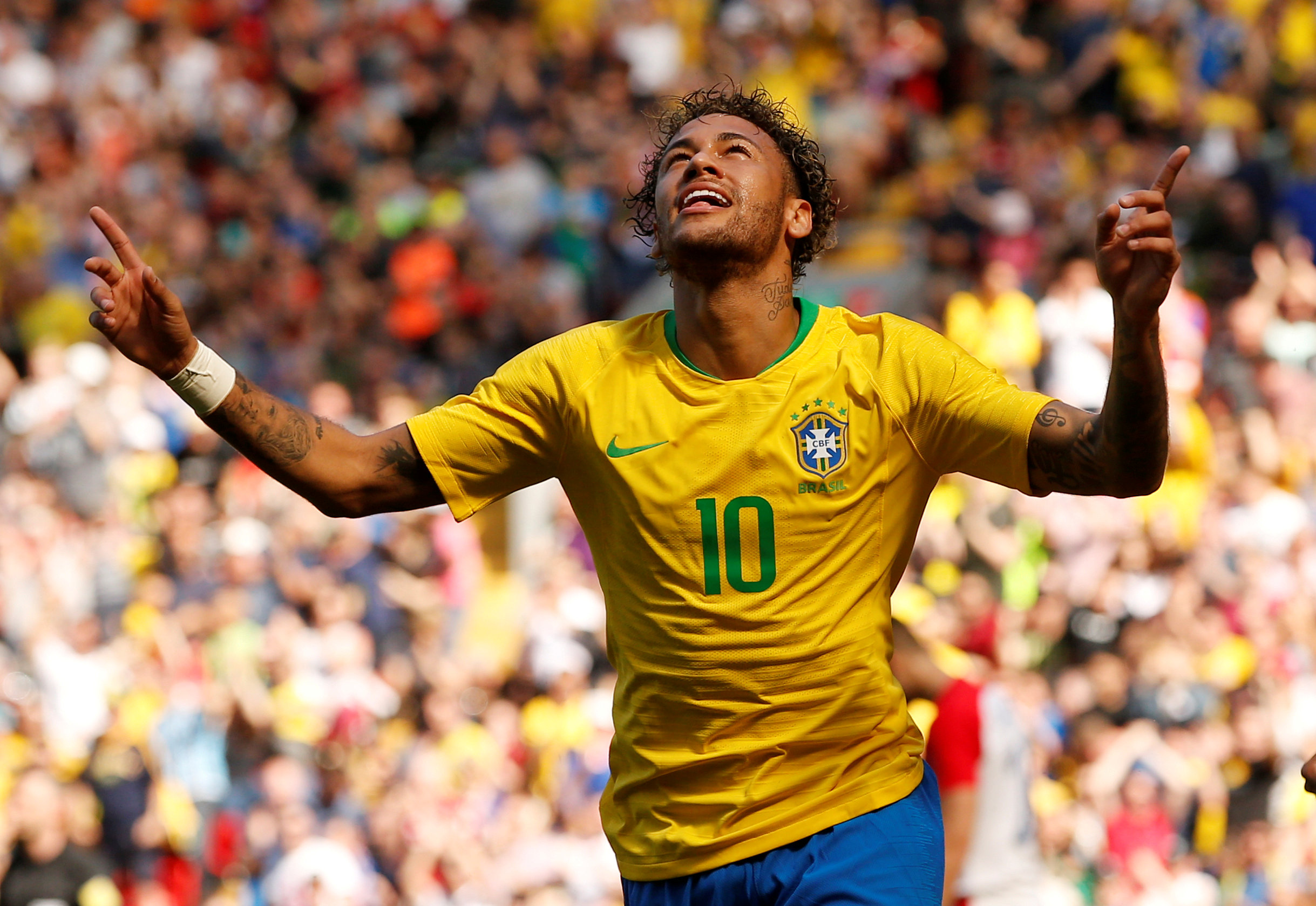 Top goalscorers World Cup 2018 odds Neymar