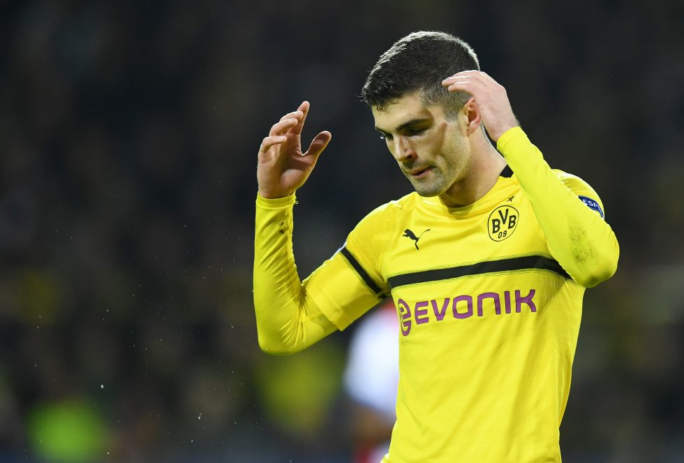Chelsea players on loan -Christian Pulisic