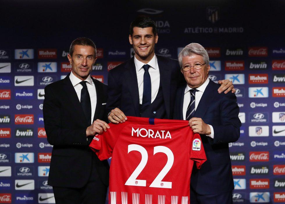 Chelsea players on loan -Alvaro Morata