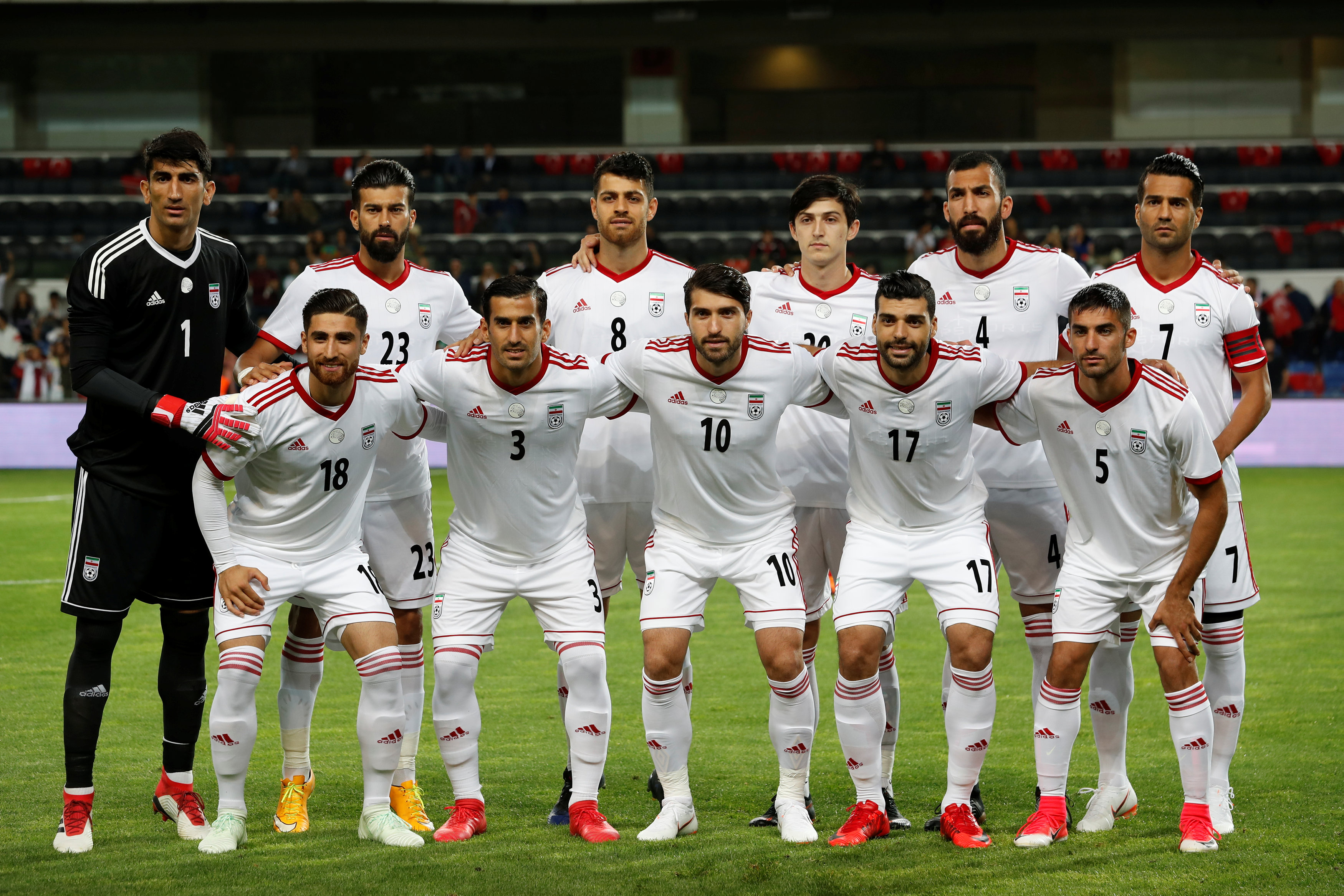 Iran squad World Cup 2018