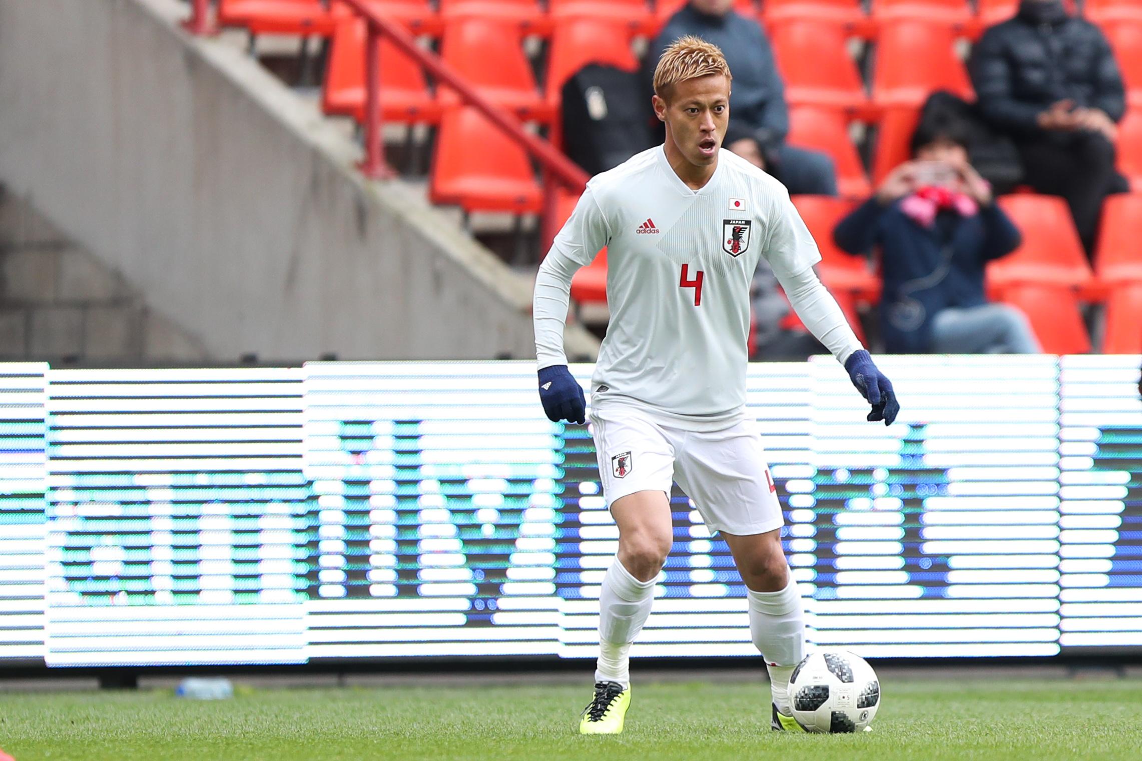 Japan squad World Cup 2018 Keisuke Honda