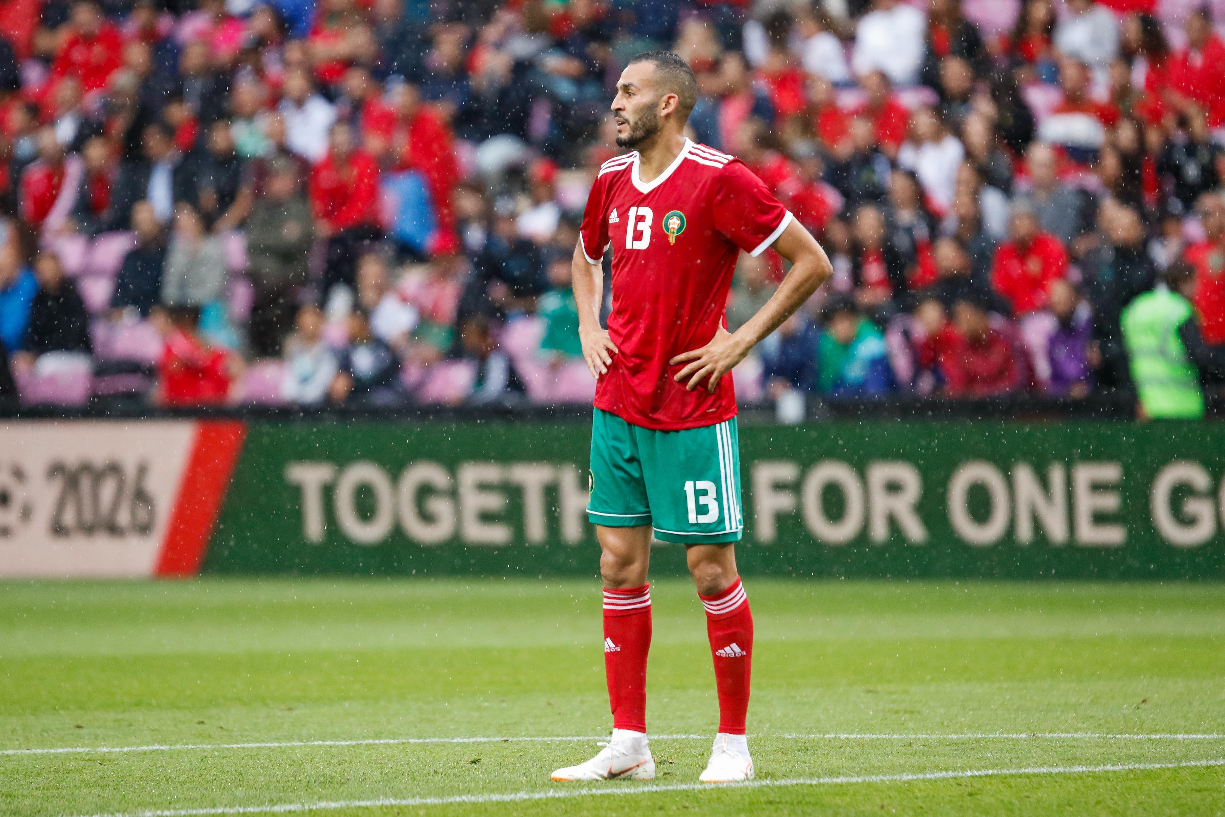 Khalid Boutaïb Morocco squad World Cup 2018