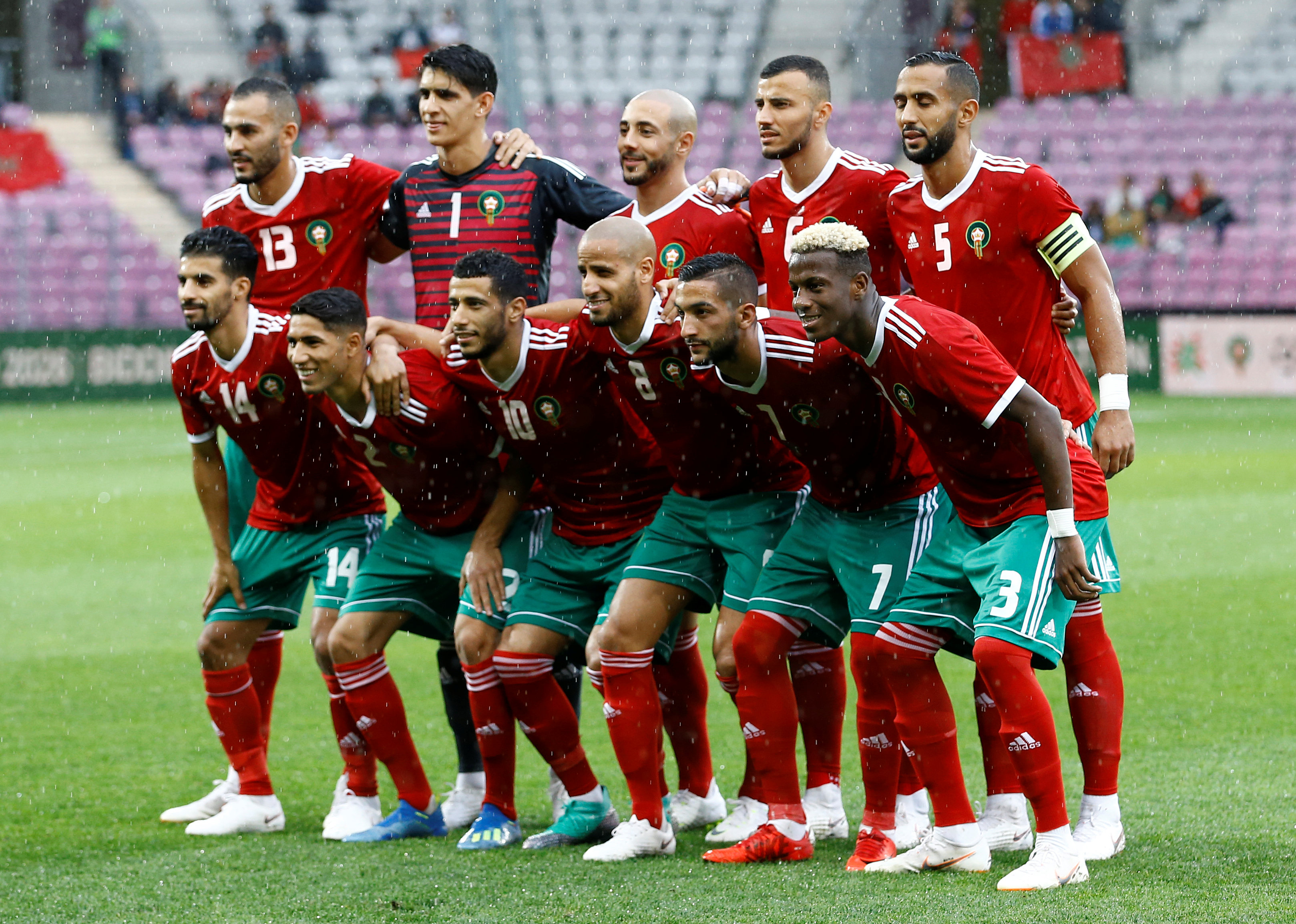 Morocco squad World Cup 2018