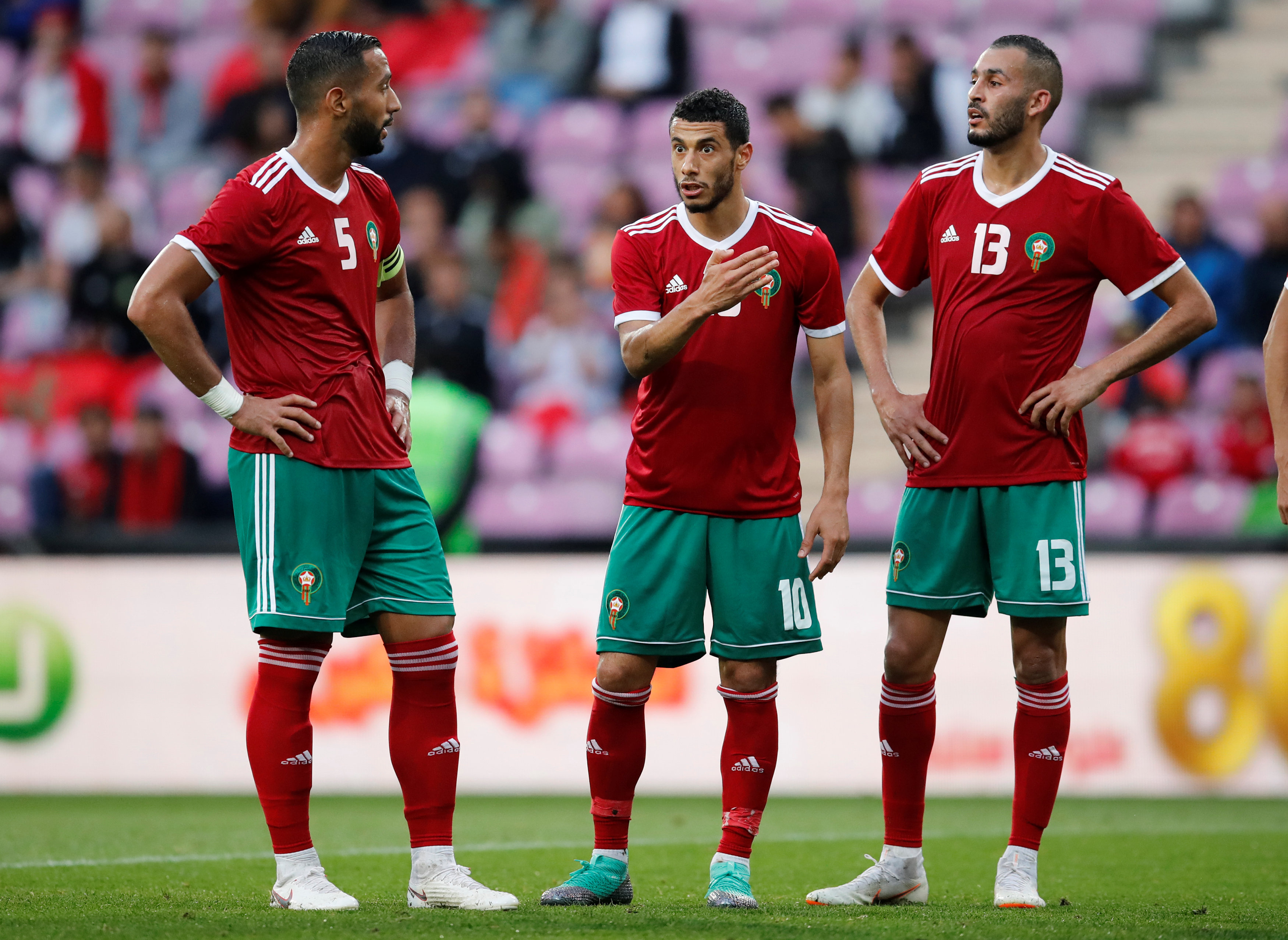 Morocco team World Cup 2018