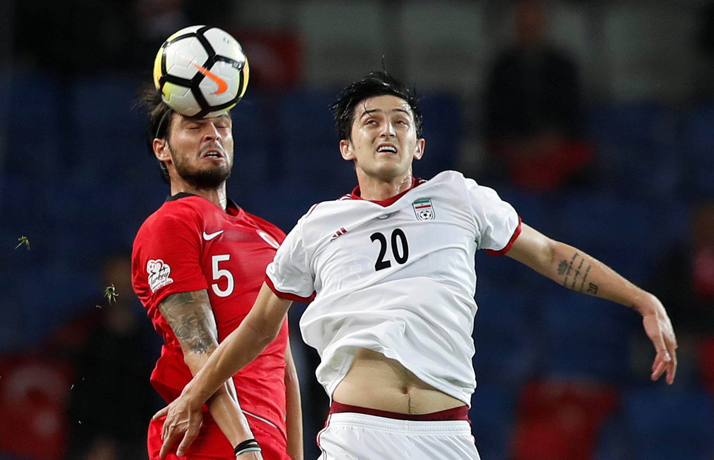 Sardar Azmoun Iran squad World Cup 2018