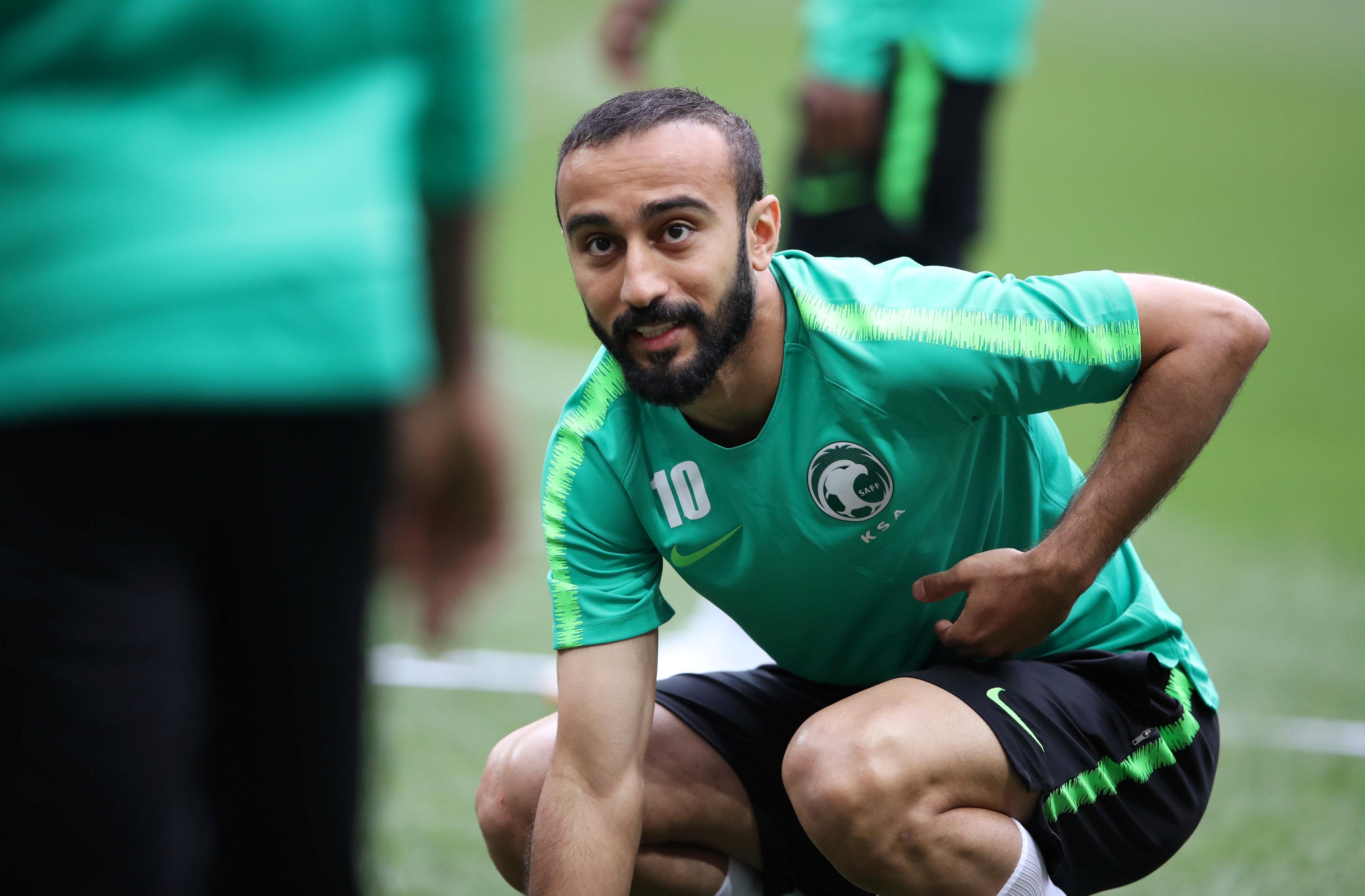 Saudi Arabia squad World Cup 2018 Mohammad Al-Sahlawi
