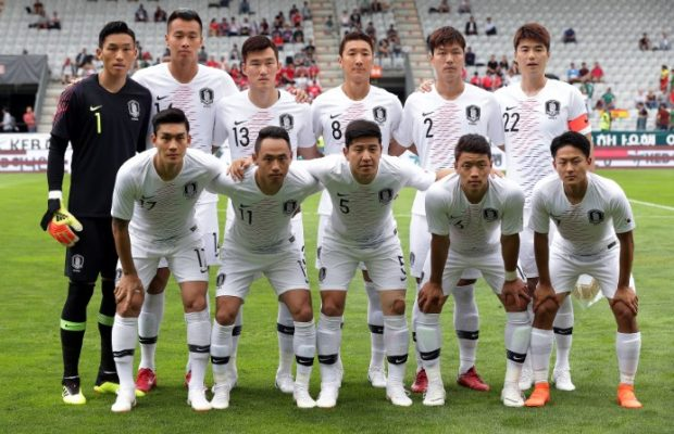 South Korea squad World Cup 2018