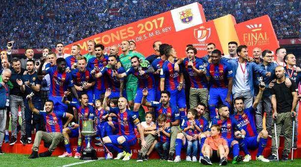 2017 Copa del Rey Winner - FC Barcelona 3-1 Alaves