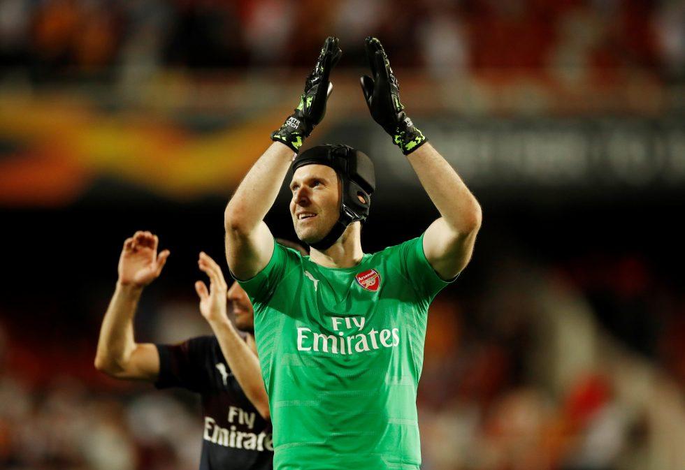 Champions League winner Cech