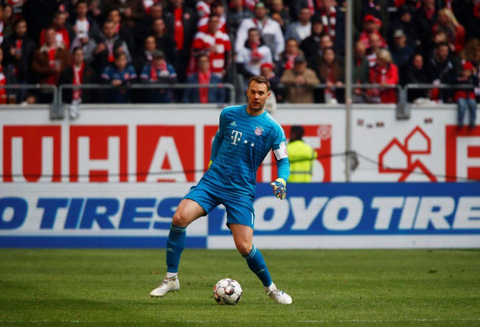 Champions League winner Neuer