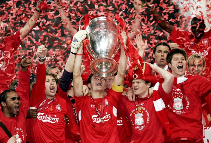 Liverpool 5 time Champions League winner