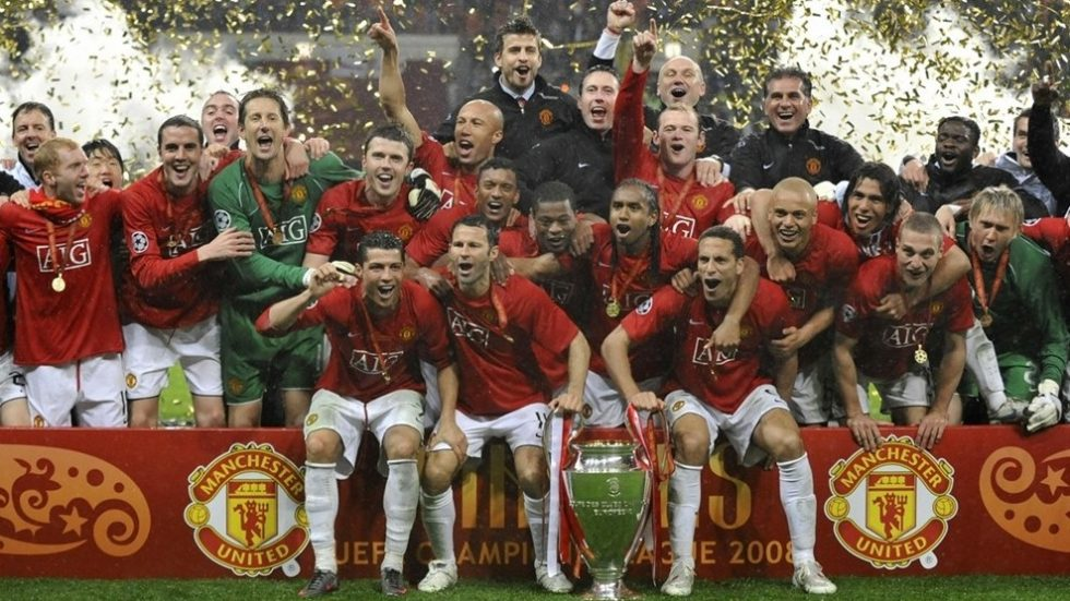 Manchester United 3 times Champions League winner