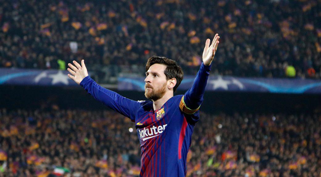 Messi UEFA Champions League top scorer