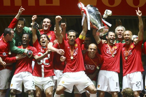 english team champions league winner manchester united