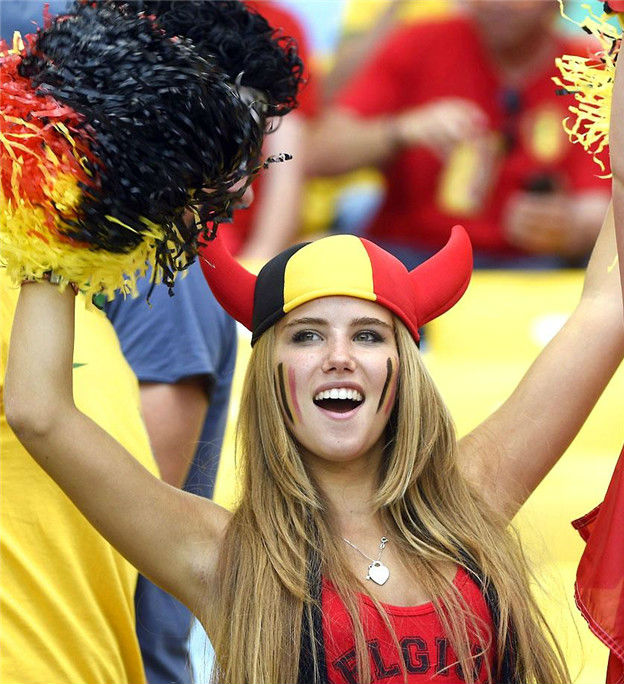 Countries With The Hottest Female Football Fans Belgium