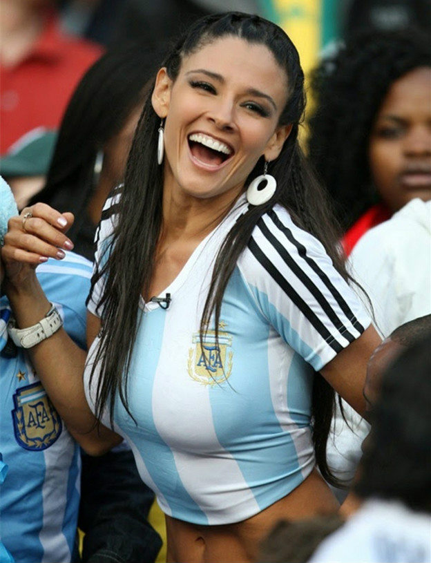 Countries With The Hottest Female Football Fans Argentina
