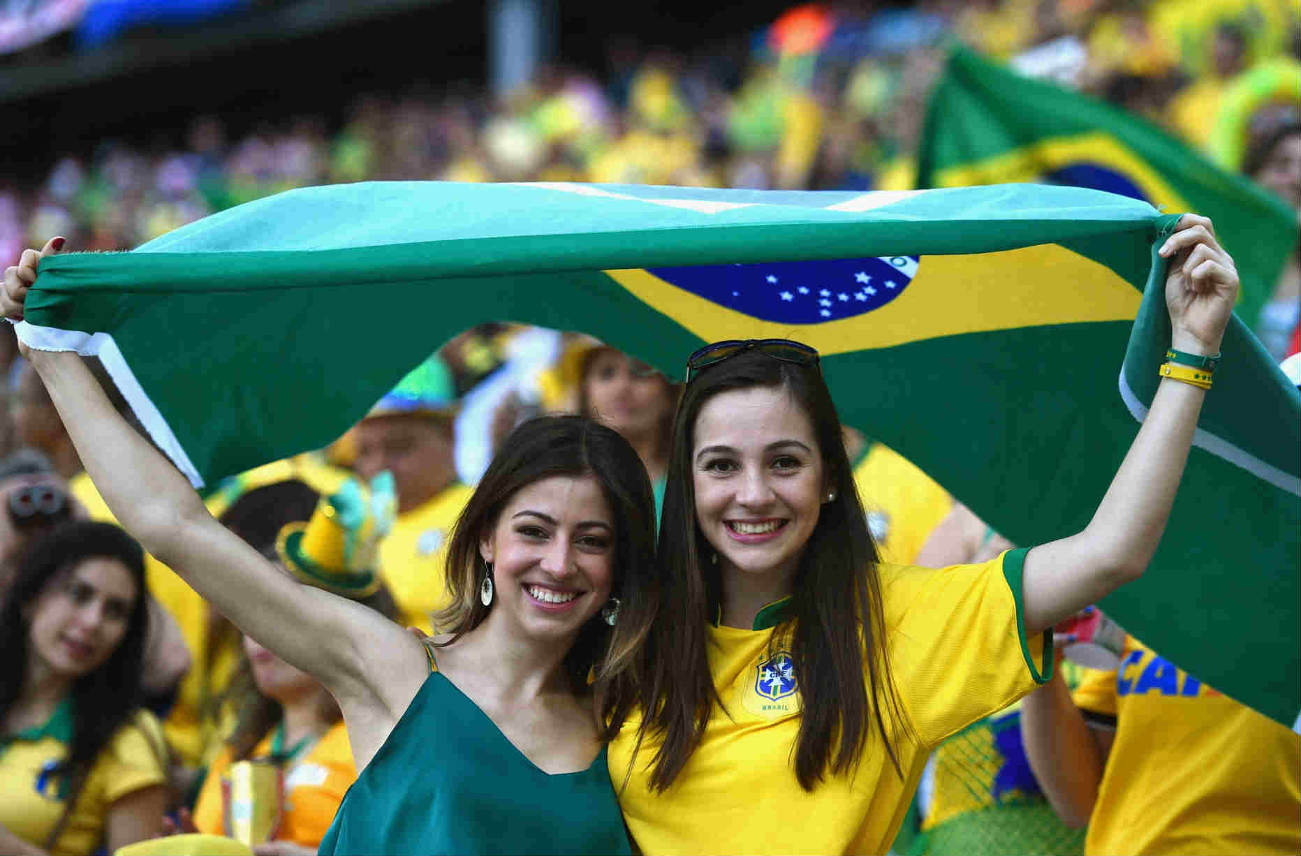 Countries With The Hottest Female Football Fans Brazilian fans