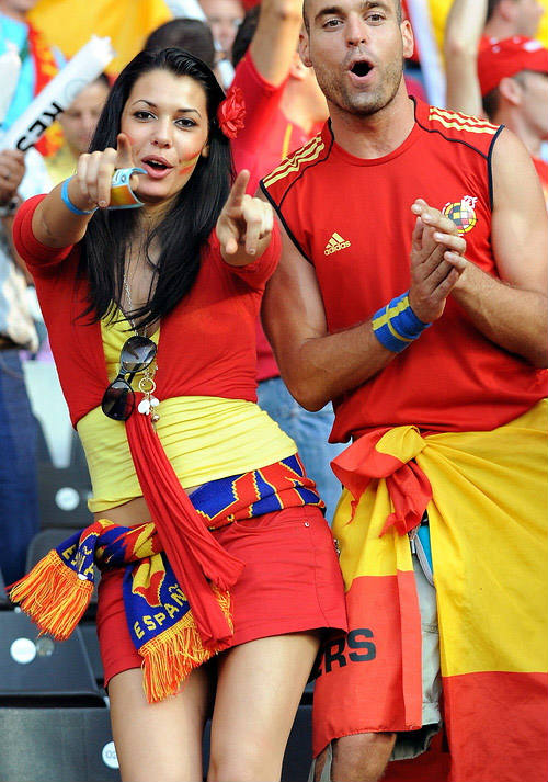 Countries With The Hottest Female Football Fans Spain
