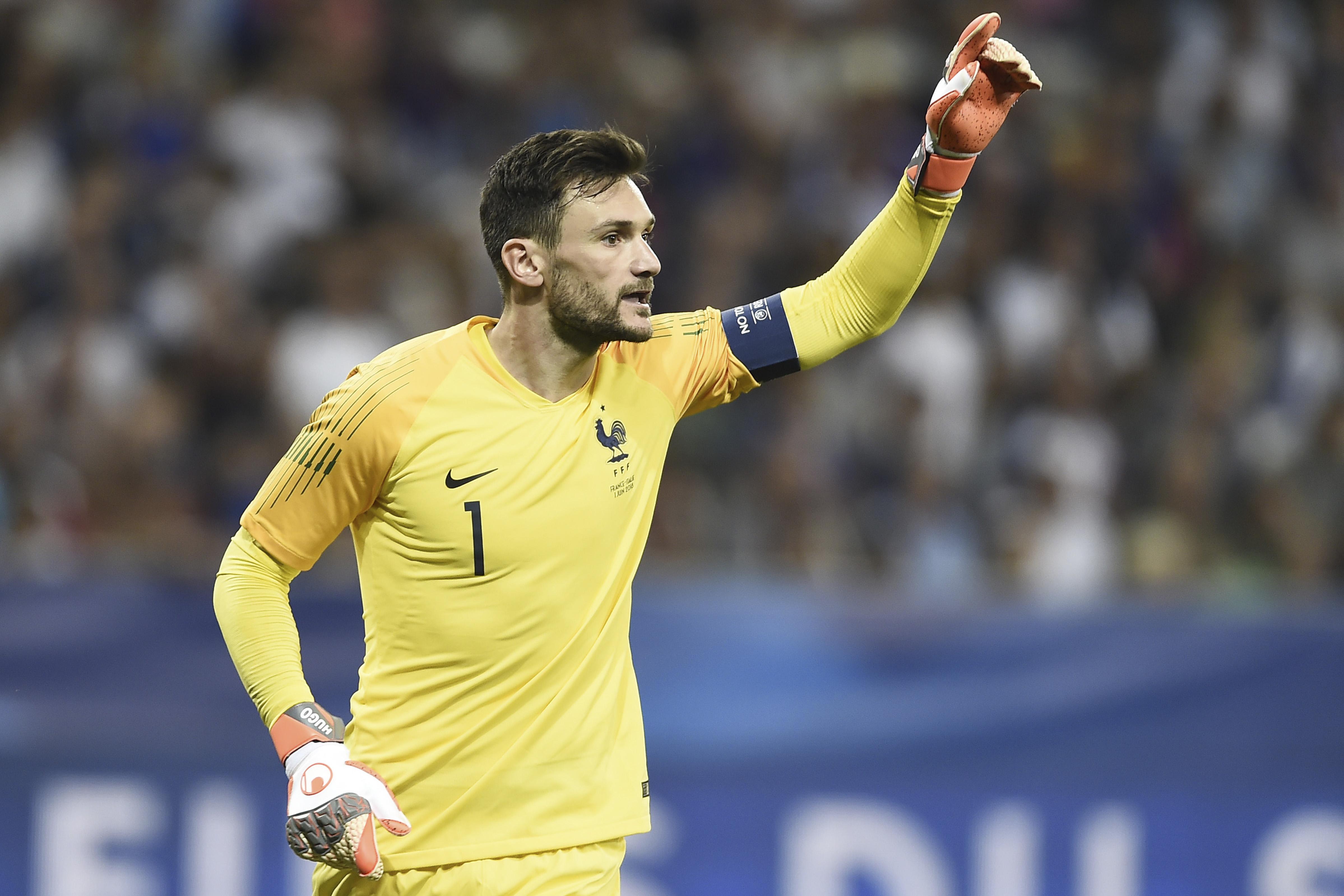 France team captain Hugo Lloris