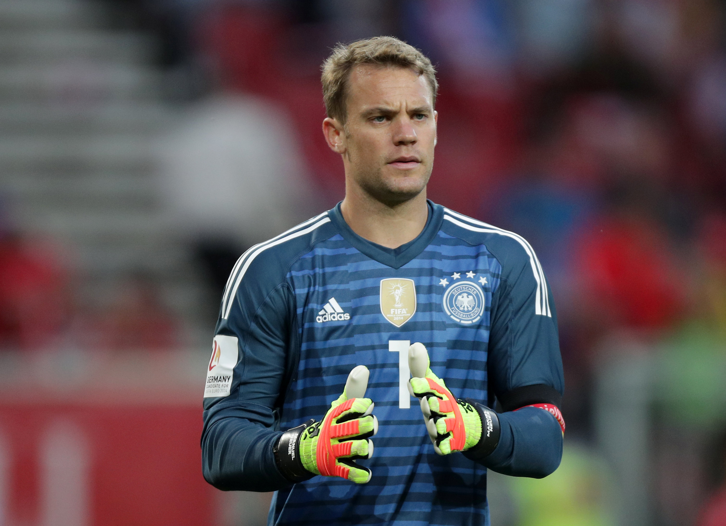 Germany Manuel Neuer 2018 FIFA World Cup All 32 Team Squads and captains