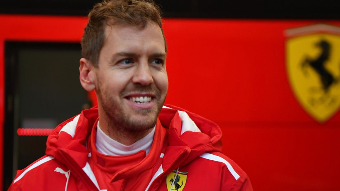 Highest paid Formula 1 driver - Sebastian Vettel Ferrari - Highest paid F1 driver