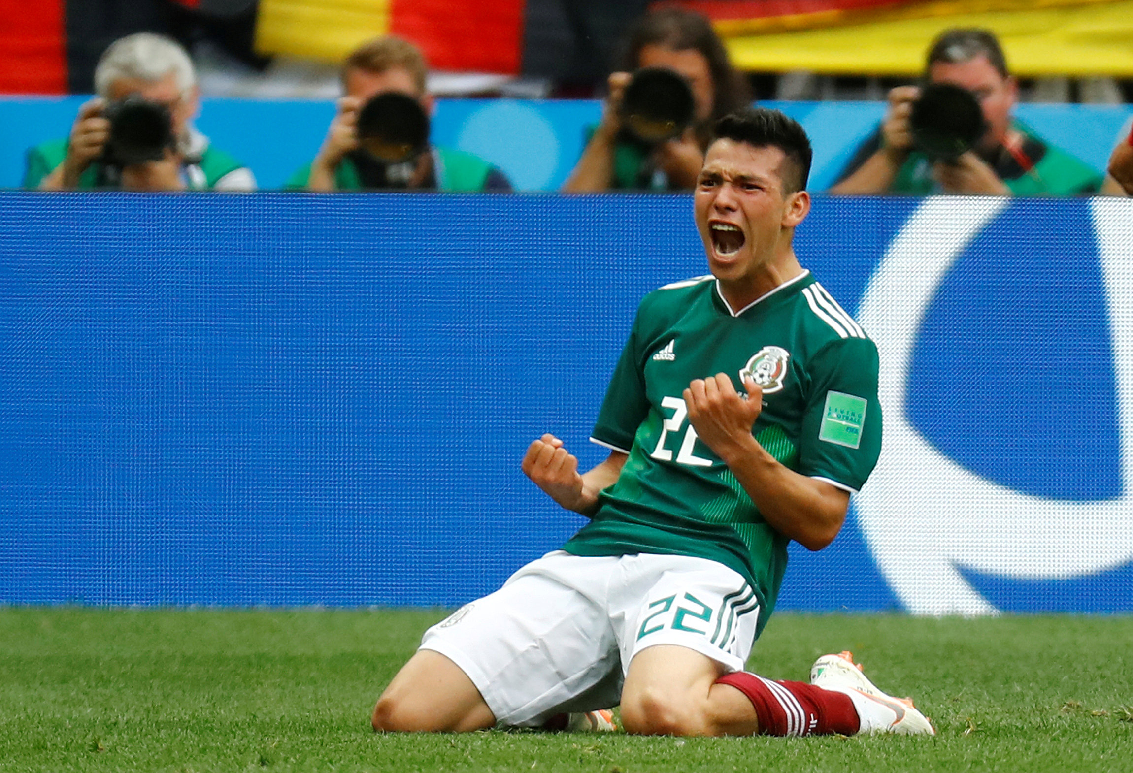 Hirving Lozano best players in the FIFA World Cup so far- Round 1